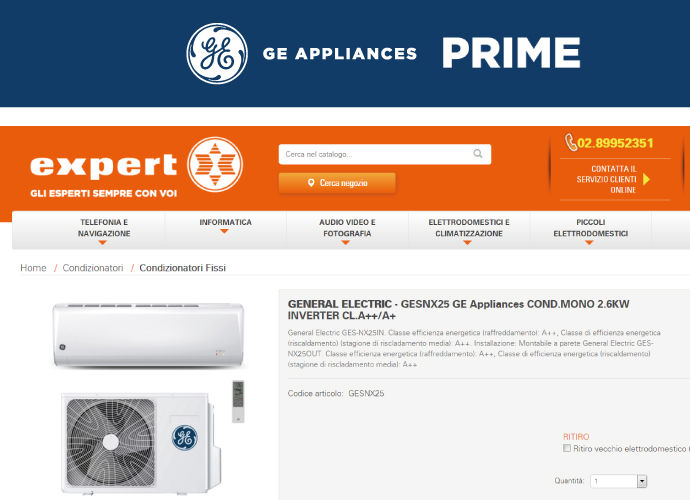 GE APPLIANCES GDO EXPERT SME